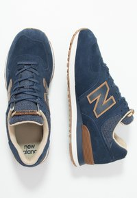 New Balance - Matalavartiset tennarit - navy - 1