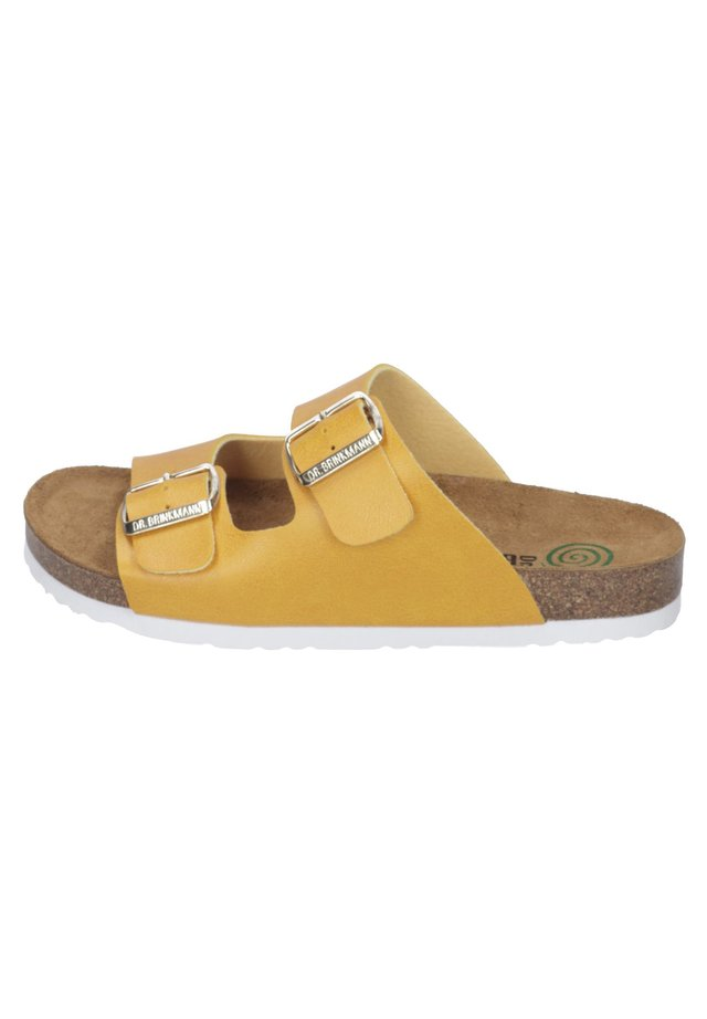 Slippers - gelb
