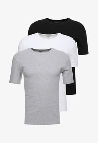 Zalando Essentials - 3 PACK - Caraco - grey/black/white