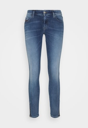 SLANDY-LOW-ZIP - Jeans Skinny Fit - light blue