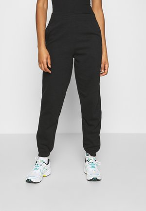 CUFFED JOGGER - Trainingsbroek - black