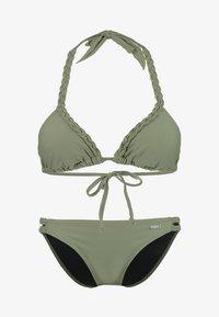 Buffalo - TRIANGLE SET - Bikini - oliv - 4