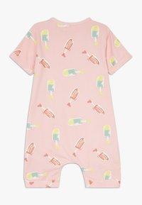 Smitten Organic - SHORTALL BABY ZGREEN - Jumpsuit - powder pink - 1