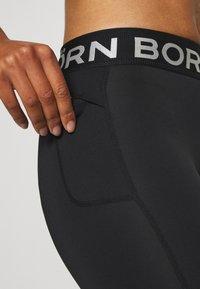 Björn Borg - MEDAL - Leggings - black silver - 6