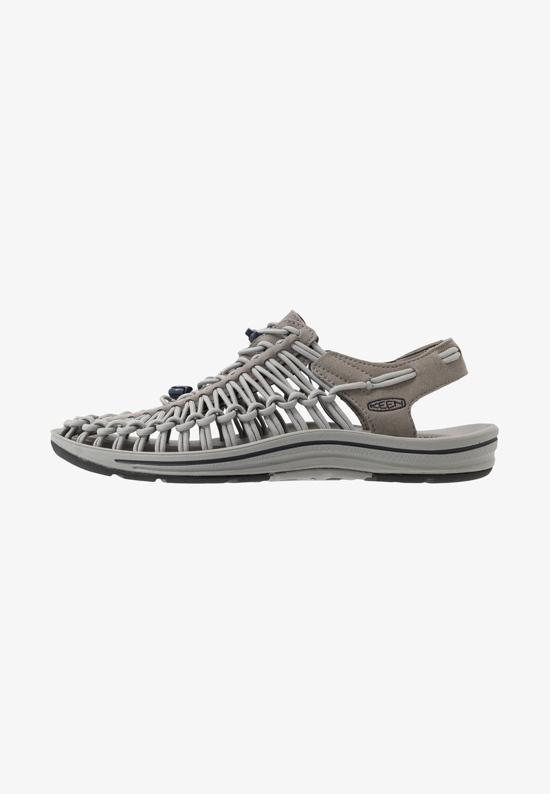 Keen - UNEEK - Walking sandals - steel grey/drizzle