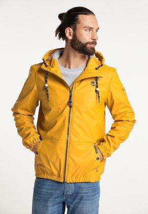 REGEN - Waterproof jacket - curry