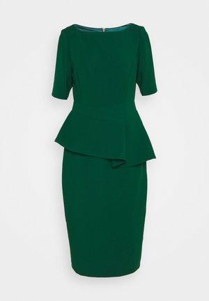 ROMOLAA - Fodralklänning - dark green