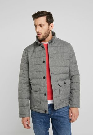 Winterjacke - mottled dark grey
