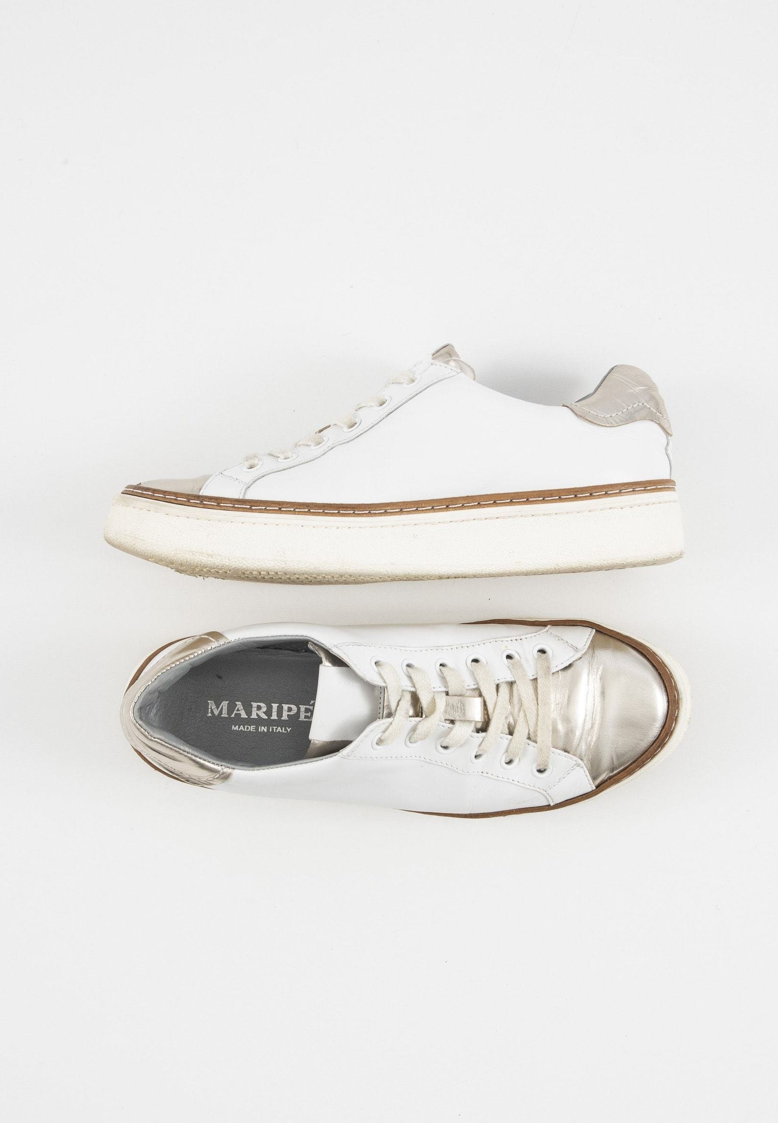 Sneakers laag whitegold