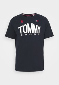 Tommy Hilfiger - ICONIC TEE - Sports shirt - blue