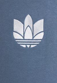 adidas Originals - TREFOIL HOOD UNISEX - Felpa - crew blue - 2