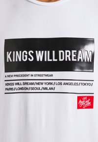 Kings Will Dream - TAYPORT TEE - Print T-shirt - white - 6