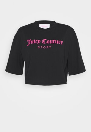 CARLA - Print T-shirt - black