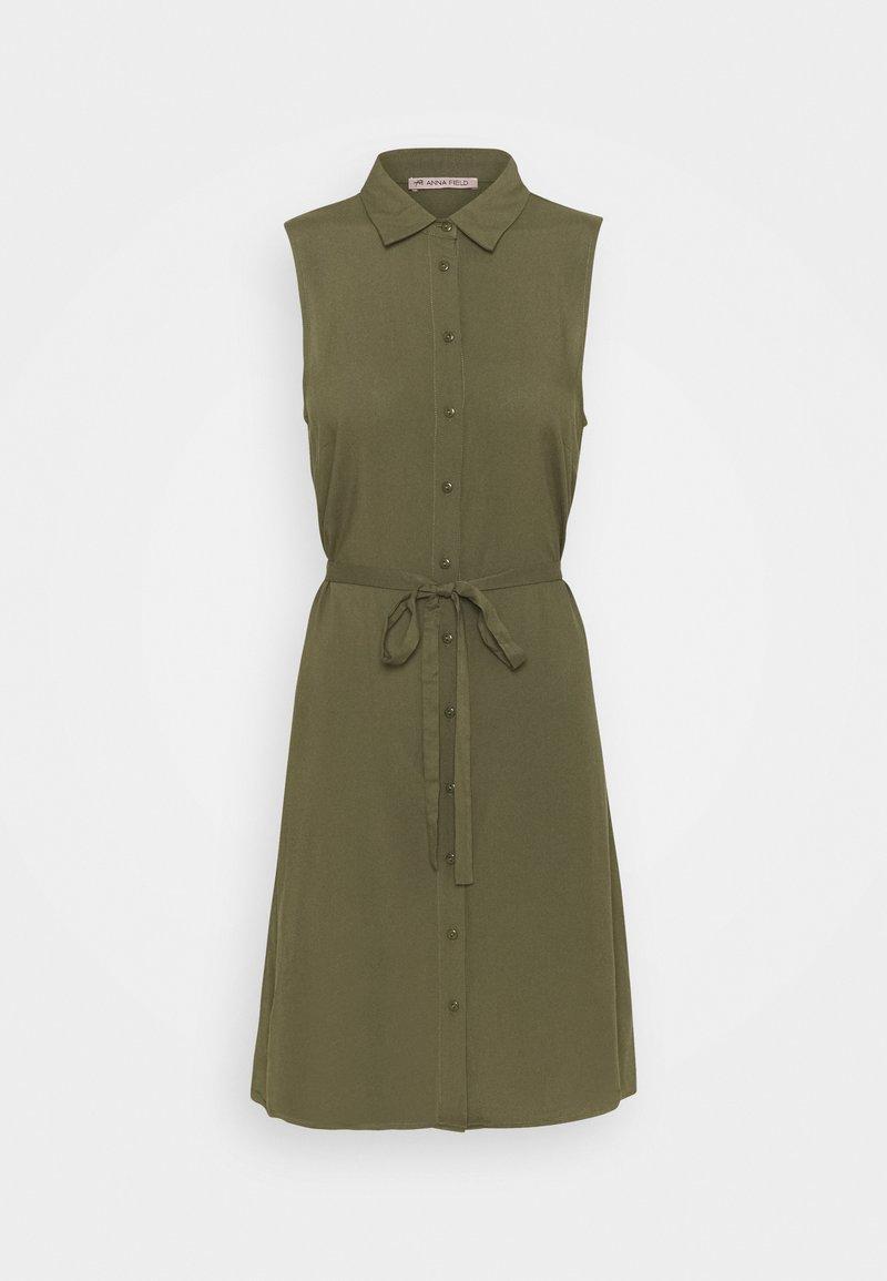 Anna Field - Vestido camisero - khaki