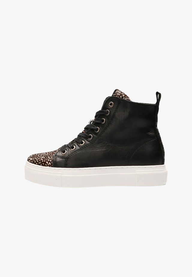TERRY - High-top trainers - black