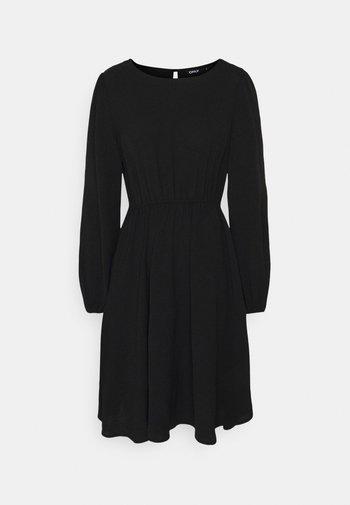 ONLMETTE O NECK - Day dress - black