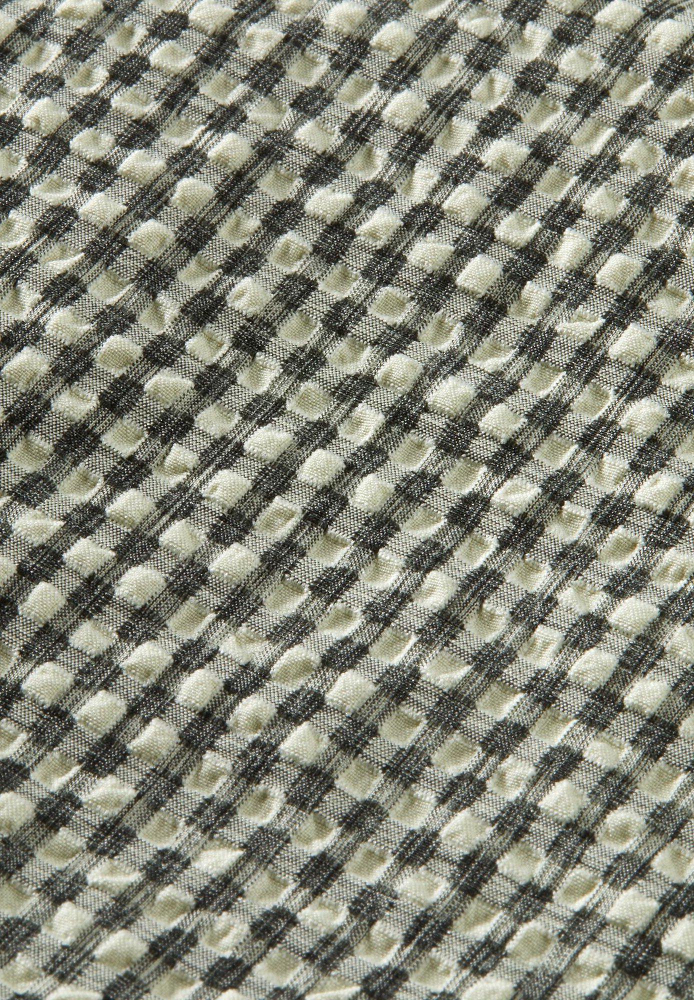 Kinder SEERSUCKER CHECKED WIDE SLEEVE - Bluse