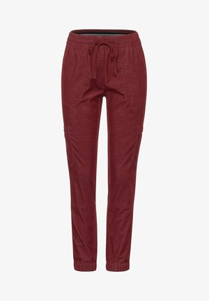 LOOSE FIT  - Trousers - braun