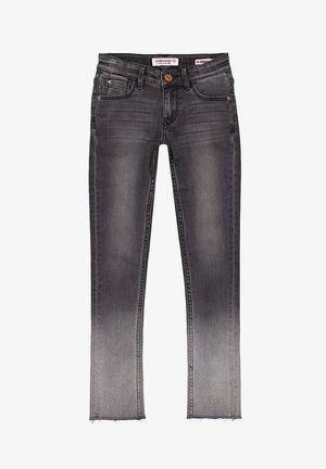 AMIA BLEACH - Straight leg jeans - black vintage