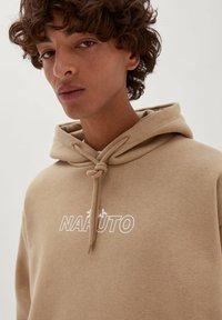 PULL&BEAR - NARUTO - Sweatshirt - mottled beige - 4