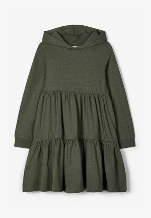 ABGESTUFTES - Jumper dress - thyme