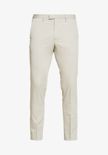 JPRVINCENT TROUSER - Spodnie garniturowe - beige