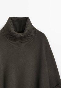 Massimo Dutti - MIT SEITLICHEM SCHLITZ  - Jumper - dark grey - 2