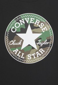 Converse - CAMO CHUCK PATCH TEE - Long sleeved top - black - 2