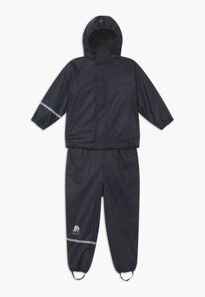 RAINWEAR SET UNISEX - Pantalones impermeables - navy