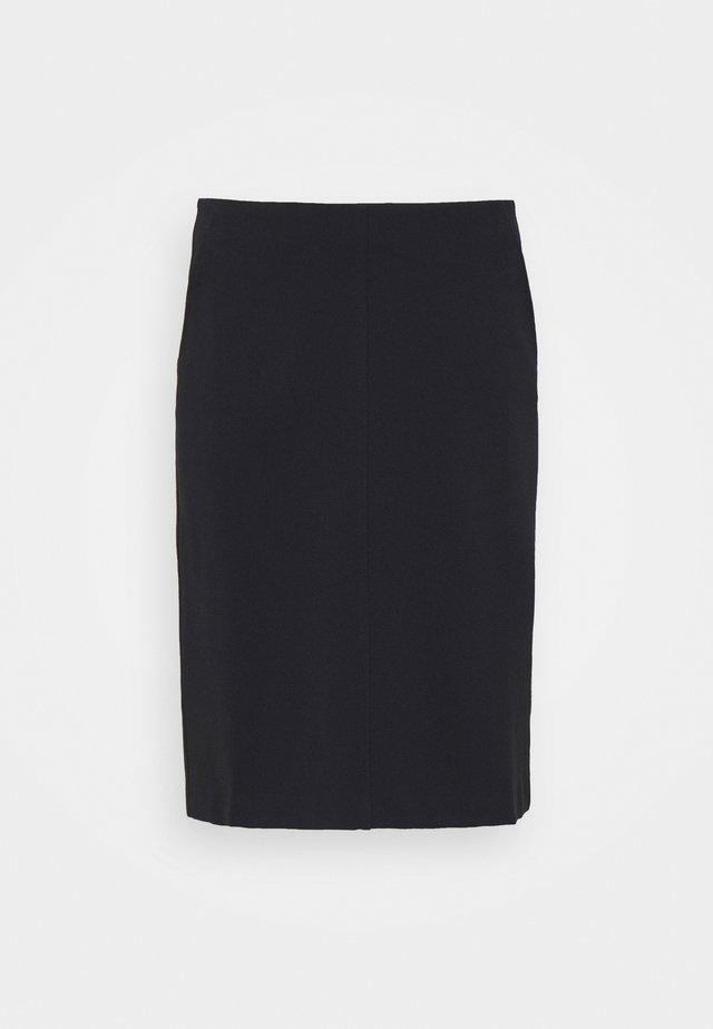 DELIA SKIRT - Mini skirt - navy