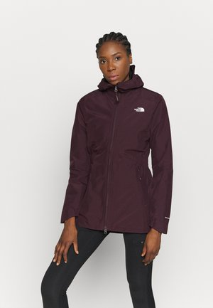 WOMENS HIKESTELLER JACKET - Hardshell jacket - root brown