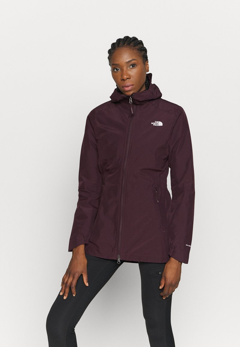 The North Face - WOMENS HIKESTELLER JACKET - Hardshell jacket - root brown