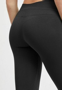 Vila - 2PACK - Leggings - Trousers - black - 2