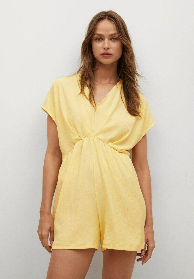 Jumpsuit - giallo pastello