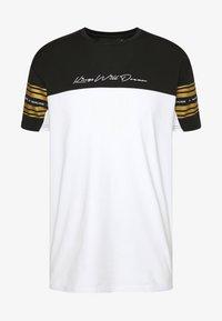Kings Will Dream - KINGS WILL DREAM - T-Shirt print - white/ gold - 3
