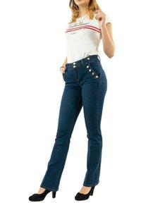 Morgan - Flared Jeans - bleu - 1