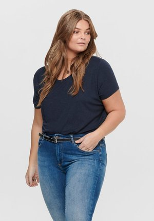 CURVY - Basic T-shirt - night sky