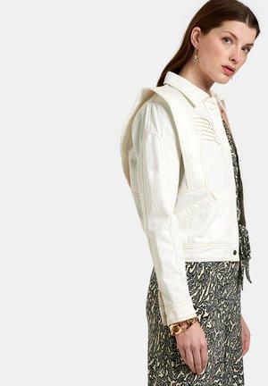 WONDER DENIM JACKET - Denim jacket - white