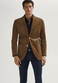 Massimo Dutti - Blazer jacket - brown - 0