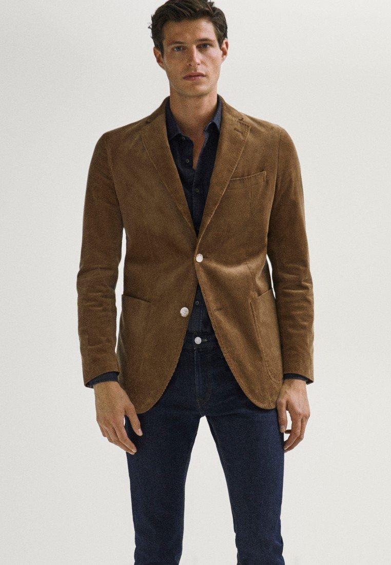 Massimo Dutti - Blazer jacket - brown