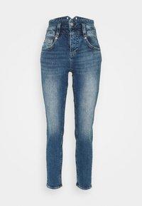 Herrlicher - PITCH CONIC  - Slim fit jeans - retro marvel - 4