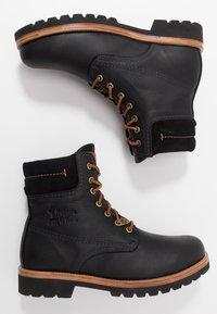 Panama Jack - IGLOO - Šněrovací kotníkové boty - black - 1