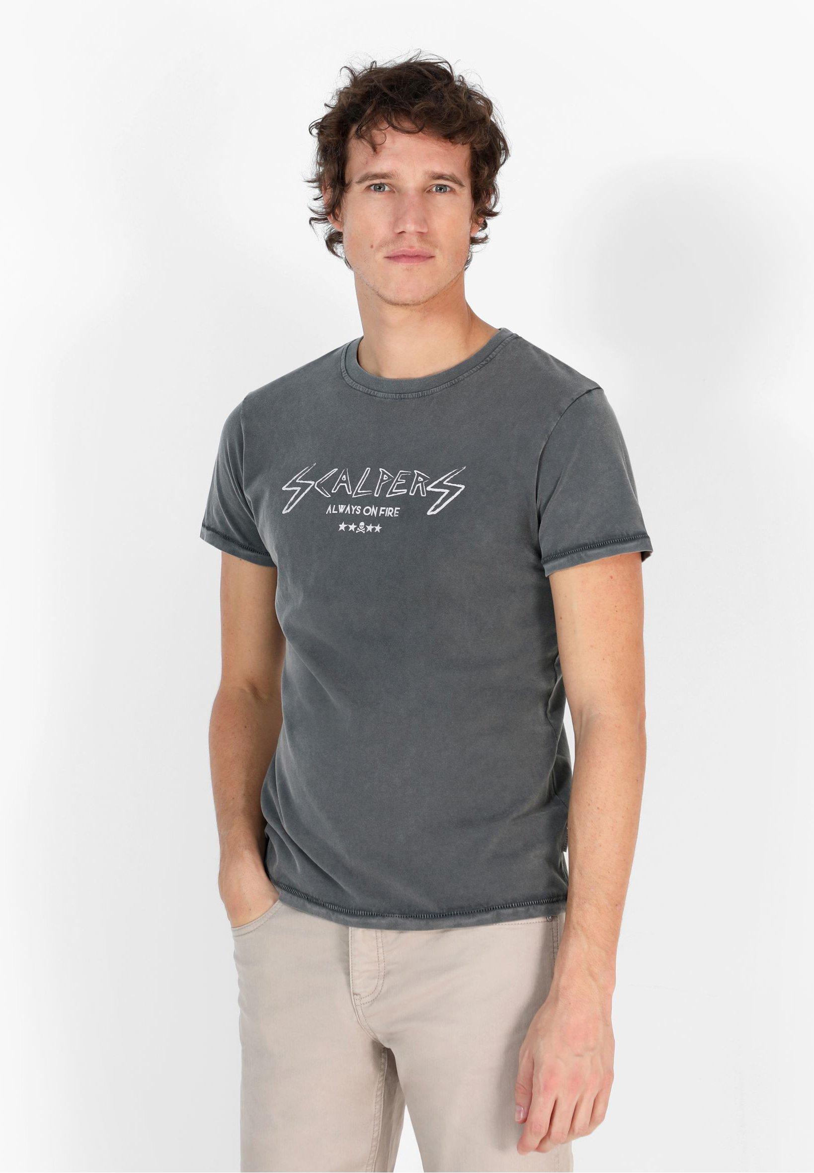 Homme ON FIRE TEE - T-shirt imprimé