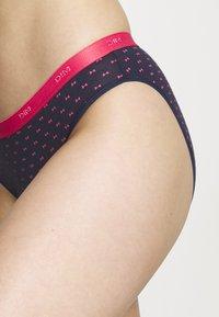 DIM - POCKET BRIEF 3 PACK - Underbukse - pink/dark blue/dark blue - 6
