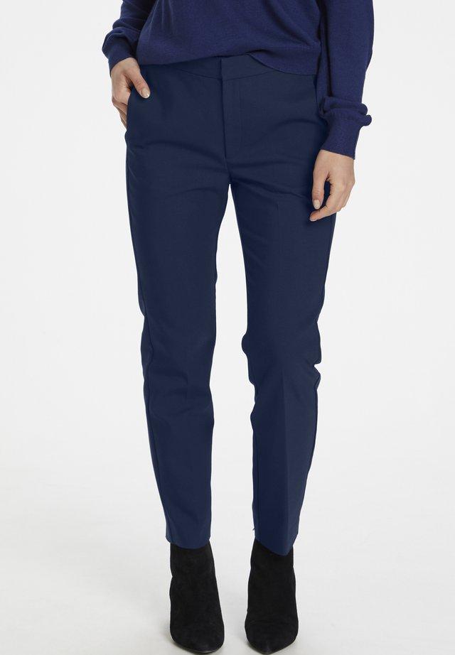 ZELLAIW - Pantaloni - ink blue