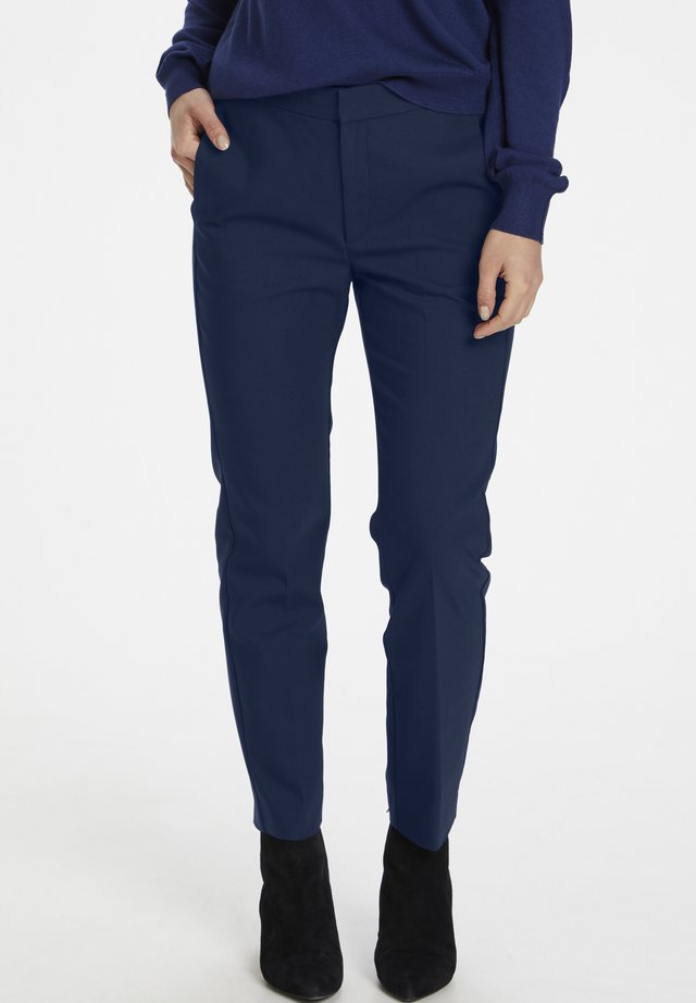 ZELLAIW FLAT  - Bukser - ink blue