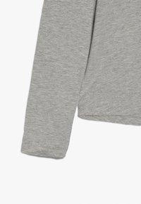 Guess - JUNIOR HIGH LOW  - Pitkähihainen paita - light heather grey - 2