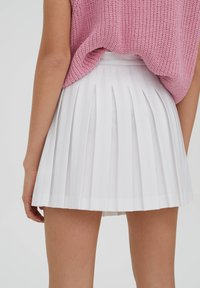 PULL&BEAR - Spódnica trapezowa - white - 11