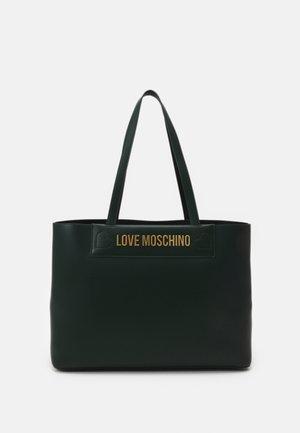 THE NEW LETTERING - Handbag - verde