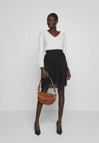 Even&Odd Tall - A-line skirt - black - 1